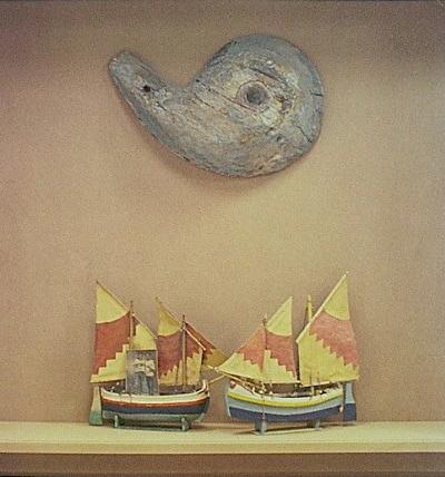 Allestimeno per la Mostra barche e gente dell'Adriatico