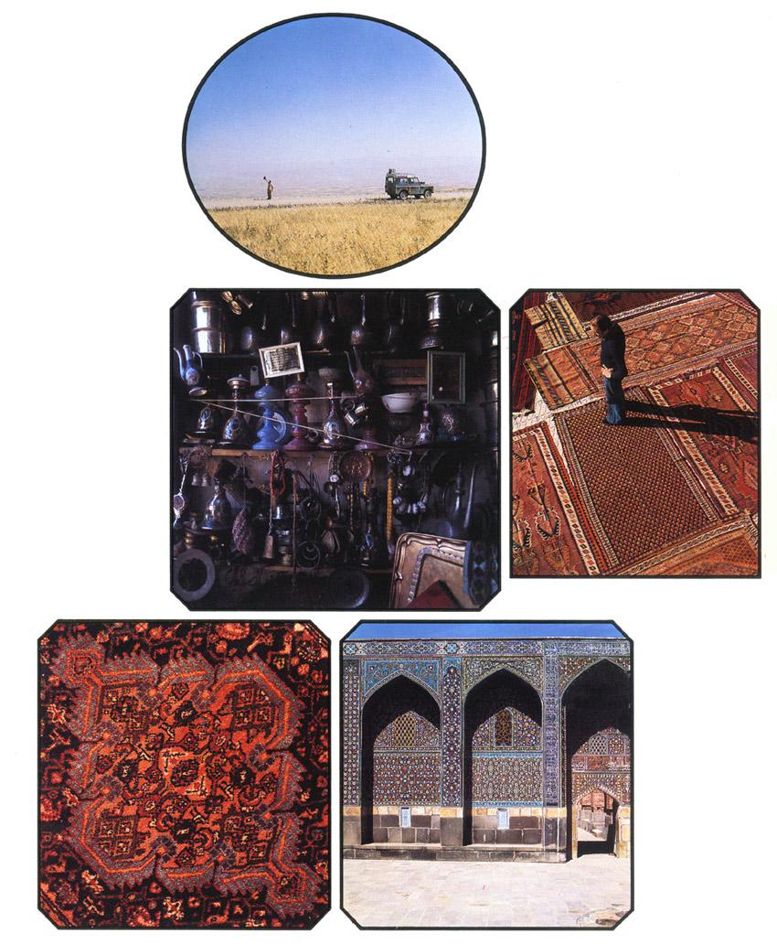 Immagini dell'Iran nelle spedizioni avvenute dal '68 al '76.