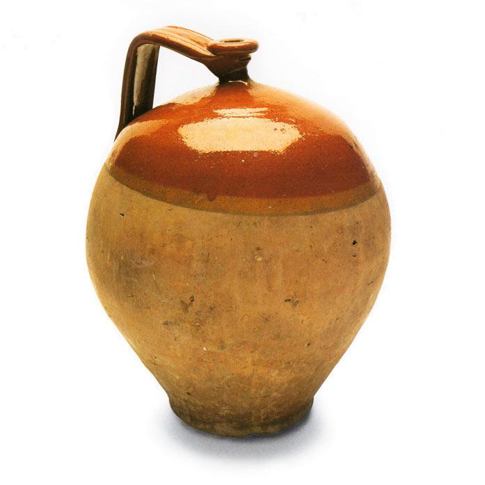 Ceramica d'uso del mediterraneo. Contenitore d'acqua No. 4